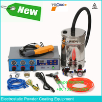 COLO-660T-H Small Portable Powder Coating Unit Gun