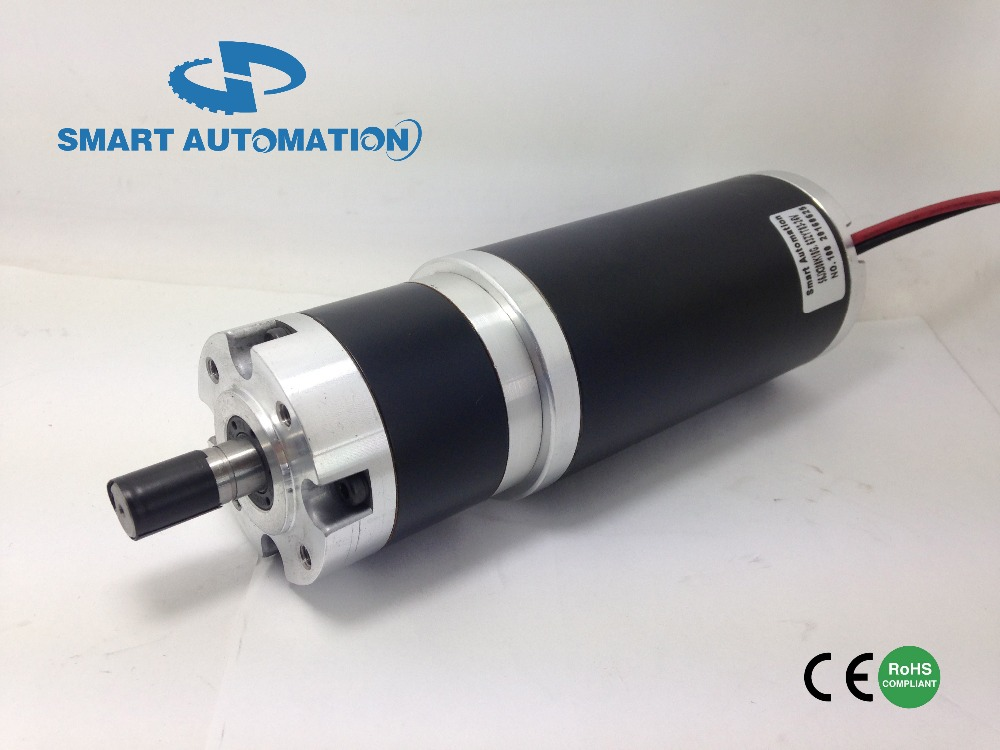 63mm High Torque Pm Dc Planetary Gear Motor, Optical Encoder and Brake