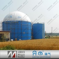 CE Certify Double Membrane Methane Gas Storage Tank -- for Biogas Plant