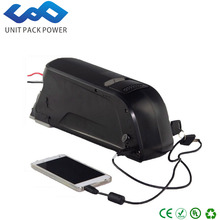 Great ebike battery 48v 12ah 5V USB port lithium ion 48v bicycle battery with BMS