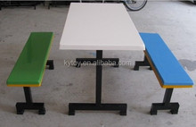 Modern School Canteen Table with Chairs