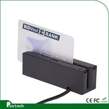 wholesale quality mini magnetic card reader with illumination light MSR100