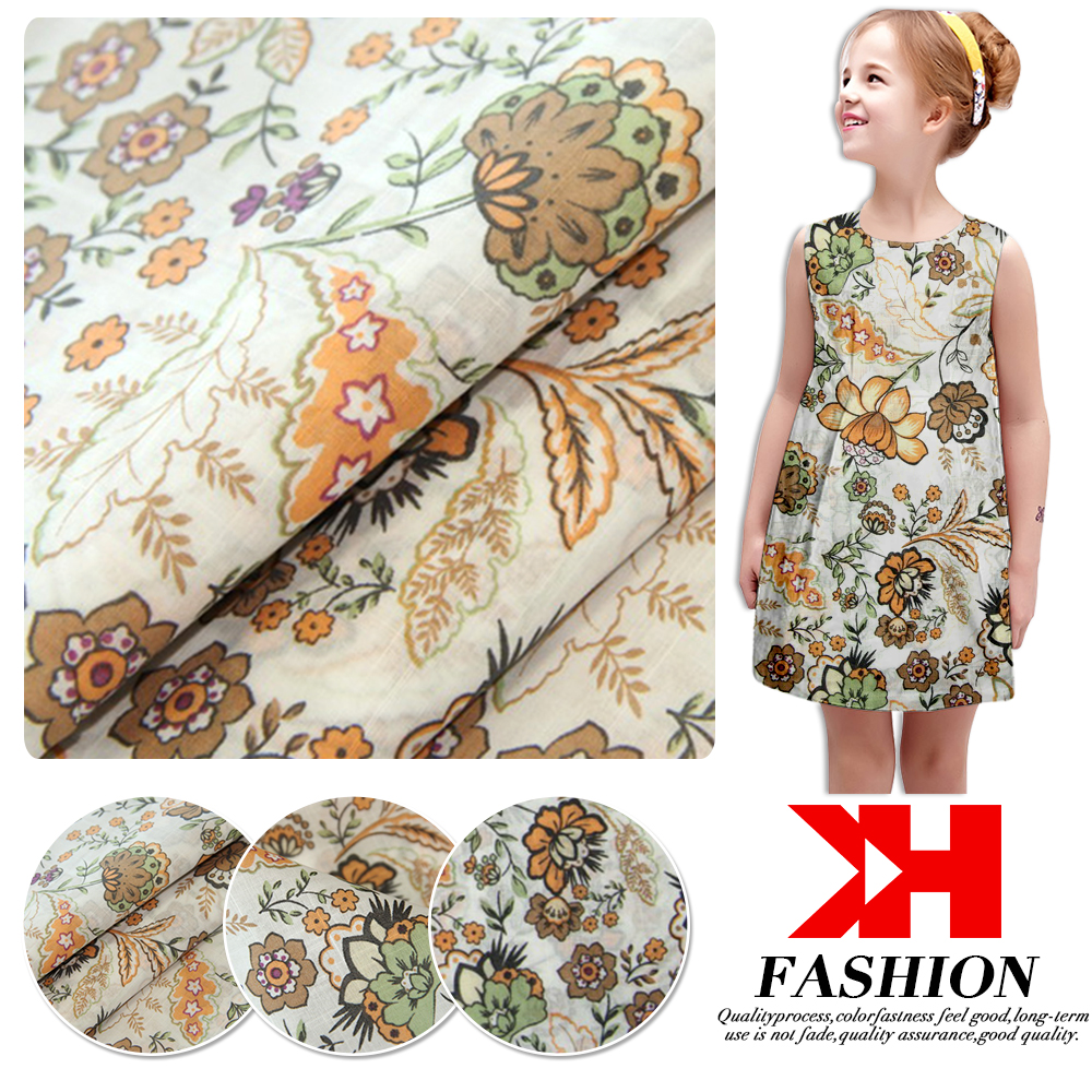 Alibaba China reactive print toile polished cotton fabric
