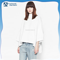 Fashion Women's high neck loose dolman t-shirt top shirt