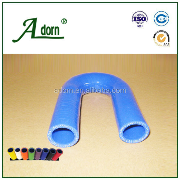 High Quality 180 Degree Bend Silicone Hose