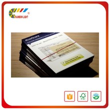 Cheap super quality a2 a3 a4 professional printer colorful art paper jewelry gold catalog