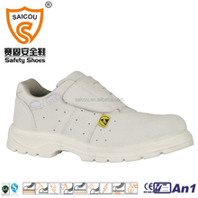 White Food industrial work time shoes personal protective shoes Easy wear anti slip SC-8819