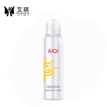 SPF 30+ Anti UV moisturizing Sunscreen Spray 150ml Processing
