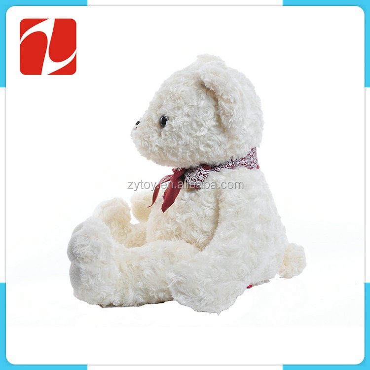 Factory wholesale adorable stuffed teddy bear plush toy