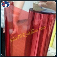 transparency plastic Colorful PET Film in mold decoration