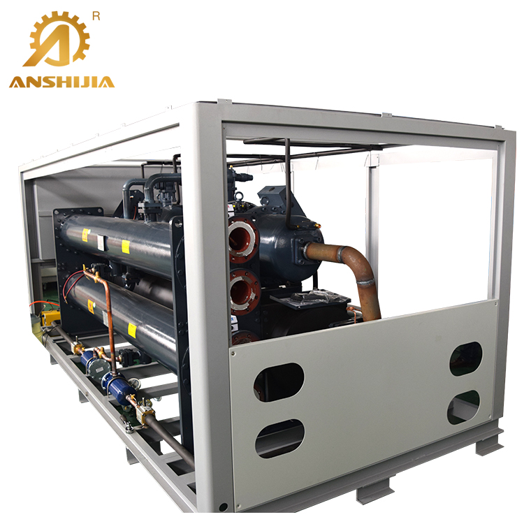 Famous Compressor Air to Water Cooled Industrial Screw Chiller Machine