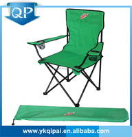 hot cheap portable steel with cup holder and carry bag folding lawn chair