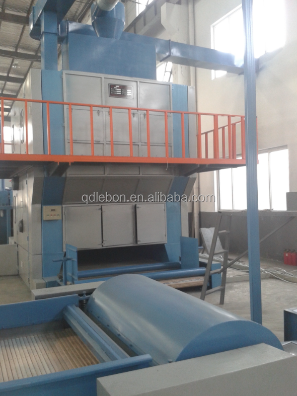 High quality Needle felt machine for processing coir fiber
