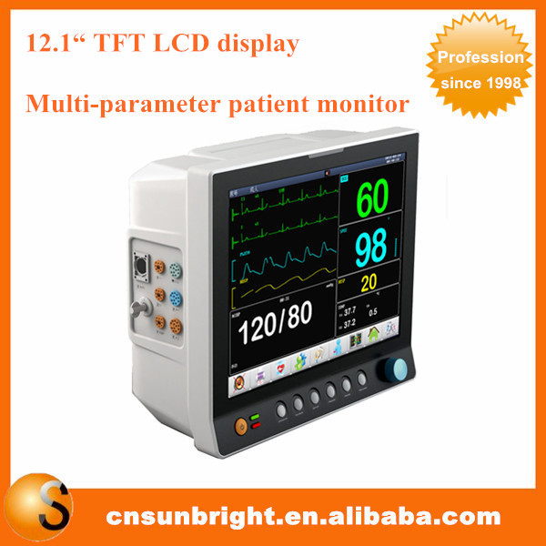 Vital Signs Monitor SP02 SUN-600K patient monitor