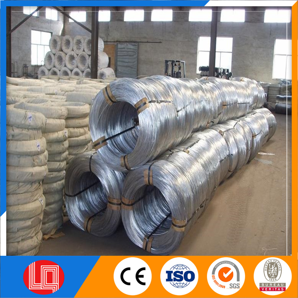 electro galvanized wire form directly manufactory