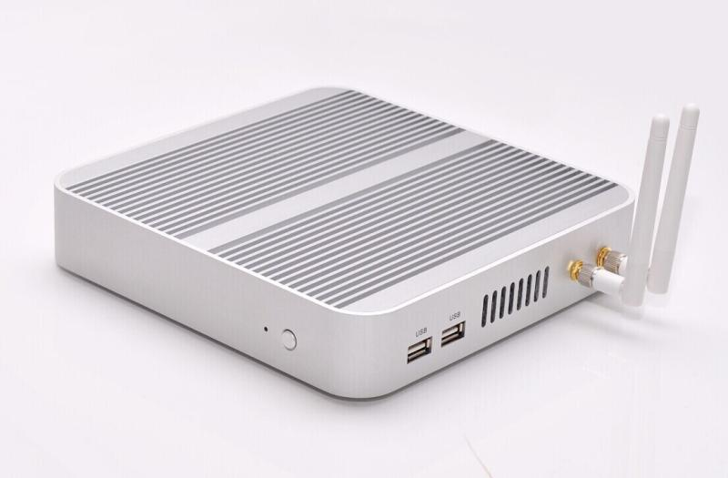 x86 mini pc with Intel Core i5 4200u dual core four thread thin client/Win8 fanless mini PC/1.8GHz