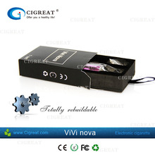 1.8/2.4/2.8/3.2 ohms resistance available no leakage no burnt smell electronic cigarette vivi nova v5