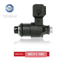 Motorcycle fuel injector OEM MEV1-190 for 250 cc motorcycle