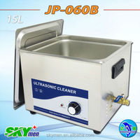 CE Medical Industry Use Ultrasonic Cleaning Equipment with timer 15L (JP-060B)