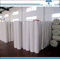 Polyvinyl alcohol water soluble spunlace nonwoven fabric,low rate