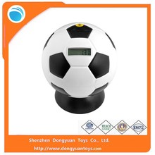 Plastic Ball Digital Money Box,Soccer Ball and Basketball