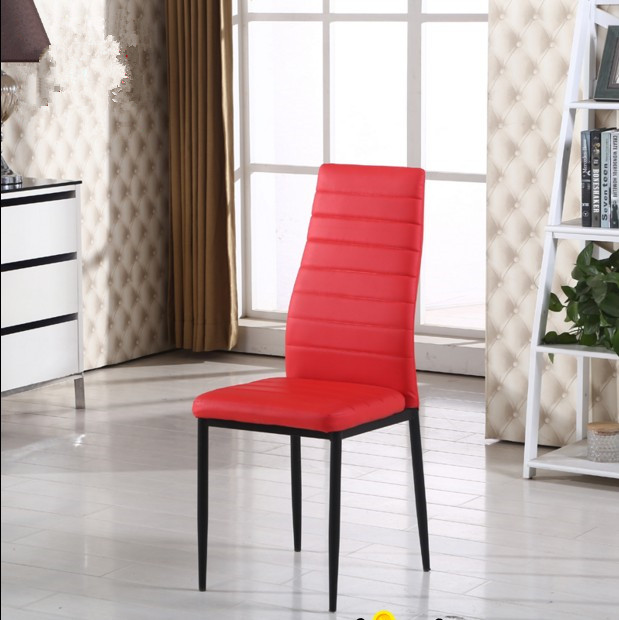 Wholesale Modern High Back Fancy Contemporary Leather Dining Room Chairs