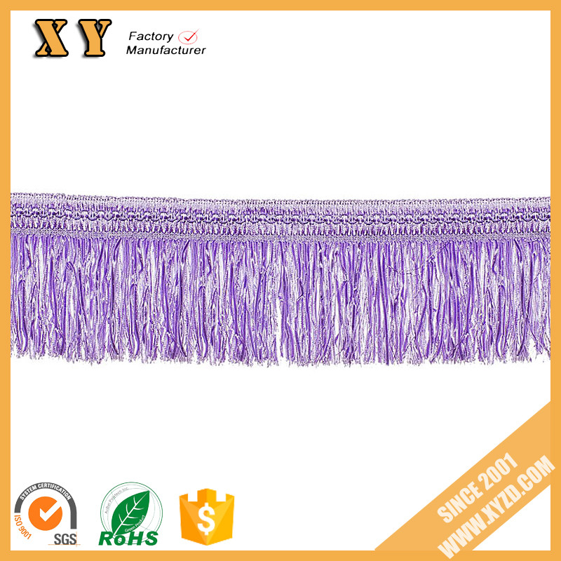 Hot sale low price and good quality curtain accessories for beaded decorative tassels fringe