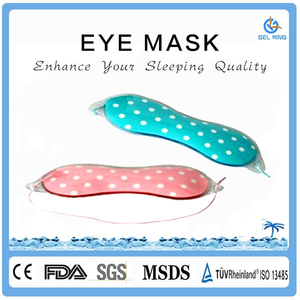 Amazon Bestseller Top Manufacturer Reusable Skin Patch Gel Pad Hot Cold Eye Mask
