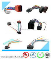 factory custom hot sale iso Sony Alpine 16 pin car radio wire harness with high quality
