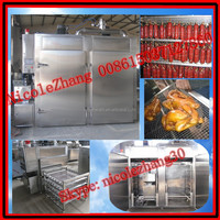2015 automatic stainless steel sausage/duck/chicken/bacon etc meat smoking machine