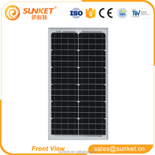 30w 10w 5w 1w low price mini light weight solar panel