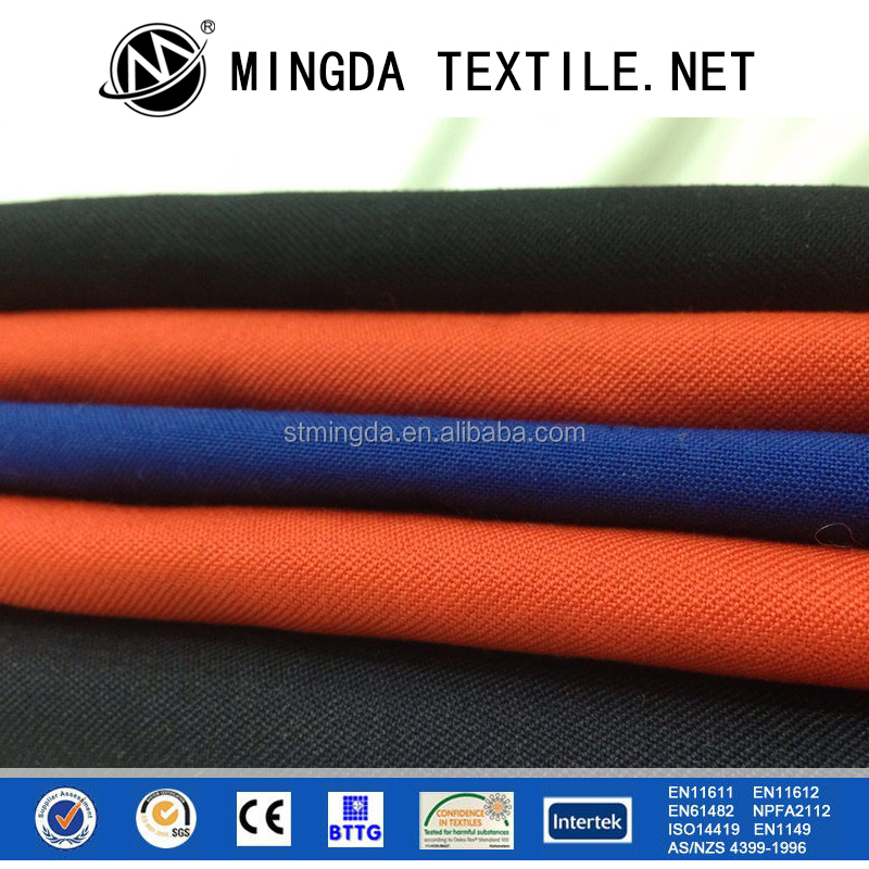 2016 Free sample supply OEM design fireproof fabric meta aramid nomex iiia fabric for sale