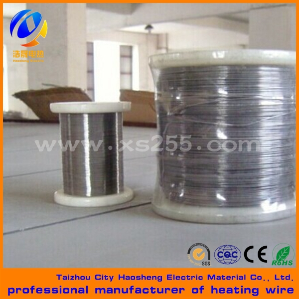 high quality nickel chromium heating wire 2080 Ni80Cr20 nichrome wire