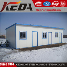 LGS prefabricated painting steel structure mobile homes