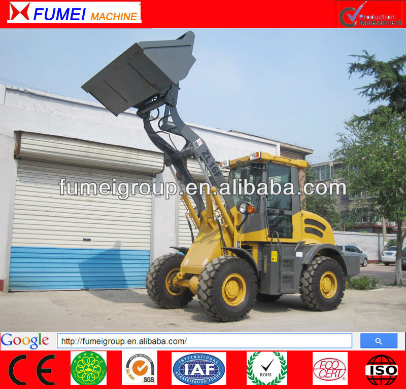 Mass exported wheel loader ZL16F with CE certificate