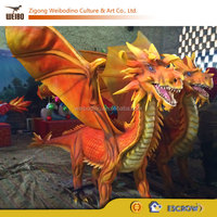 New Western Dragon for Outdoor Playground Exhibition
