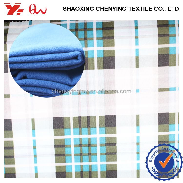 shaoxing direct factory new poly women clothing materials fabric / high quality poly viscose blended fabric for winter coat