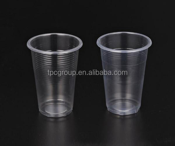 7 OZ disposable transparent PLASTIC CUPS (PP)
