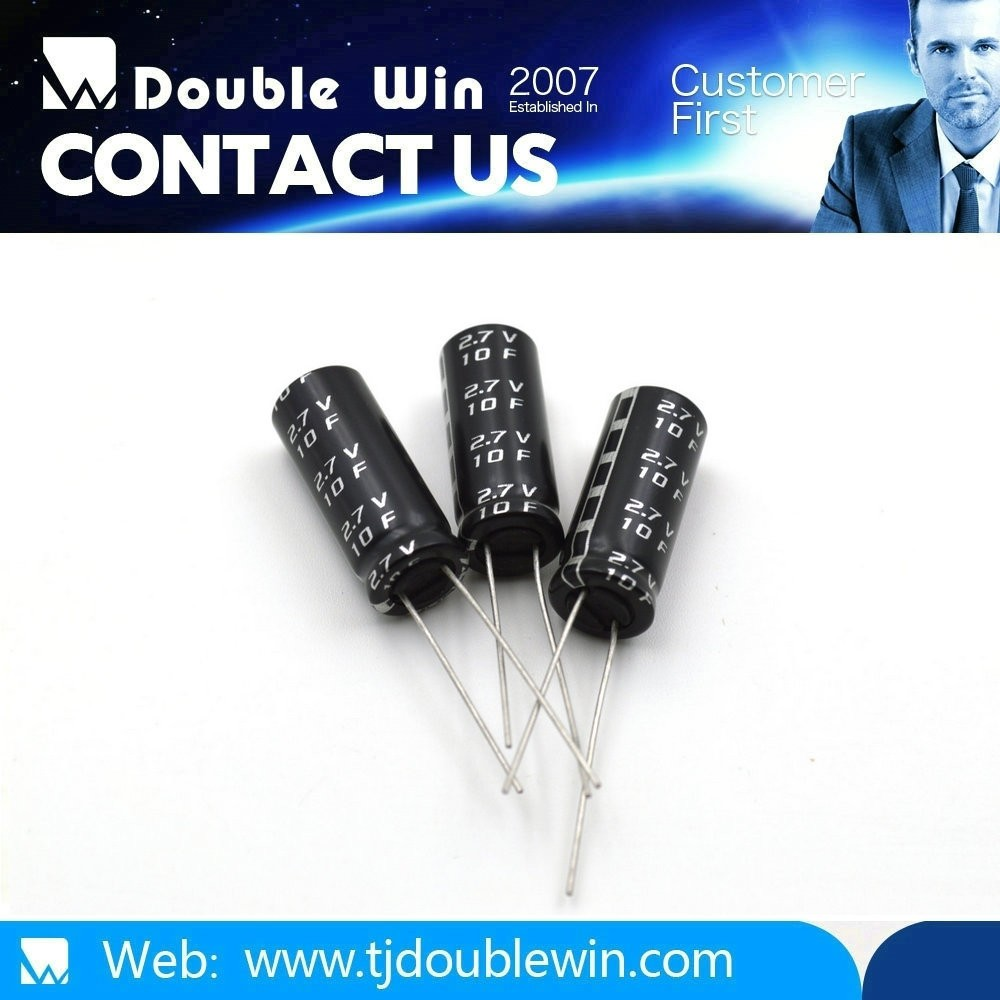 2.7V 1F electrolytic capacitor/power capacitor free samples