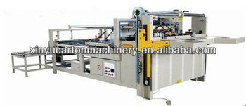 Xinyu BZX2800 semi-auto gluing and folding machine