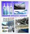 good quality Neutral Silicon Sealant, weatherproof sealing silicone for glass and aluminum
