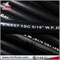 One layer wire braid cloth surface EN857 1SC rubber hose