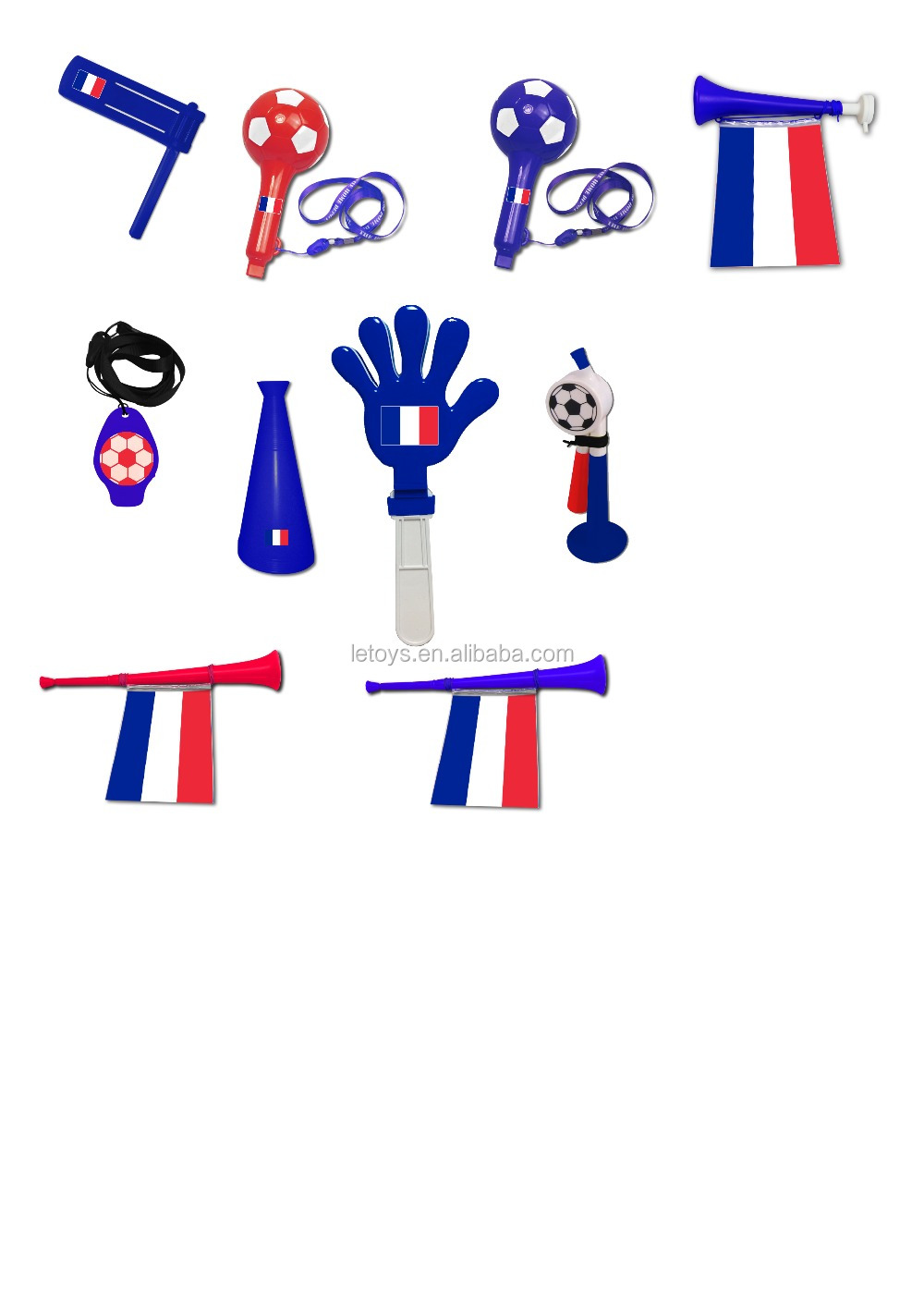 2018 World Cup football vuvuzela France style
