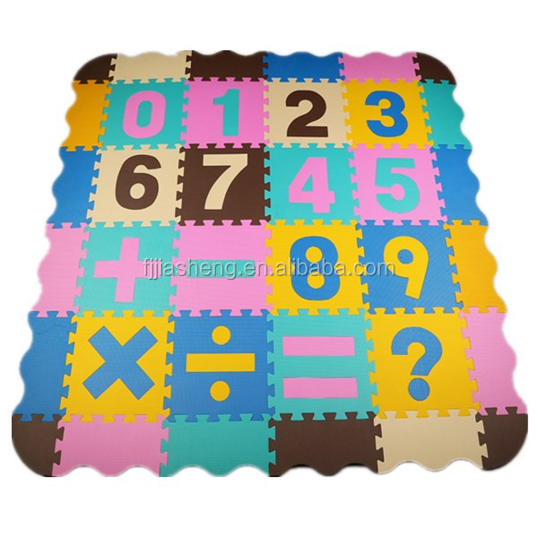 Non-toxic foam mats baby educational toys