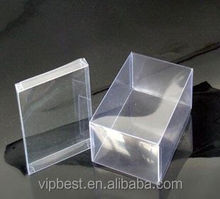 Wholesale Custome Logo Clear Plastic Box for Jewelry