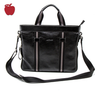 Guangzhou Suppliers Direct Sales Business Bags Men Genuine Leather Briefcase