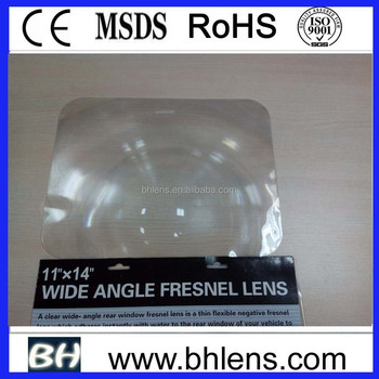 "(8"" x 10"") China flat fresnel lenses"