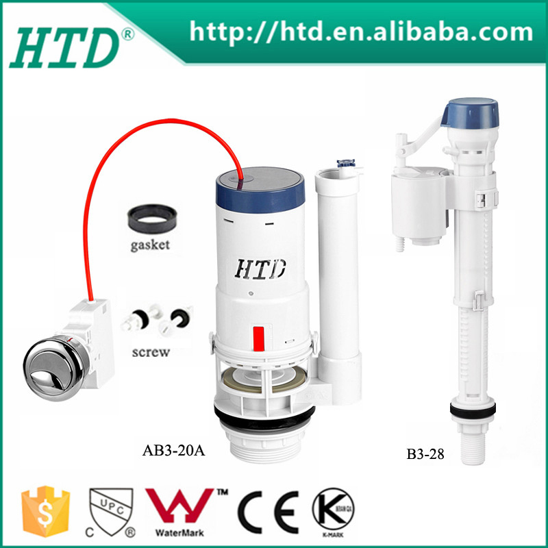 HTD-AB3-20+B3-28 Certificated wc flush valve, sanitary fitting