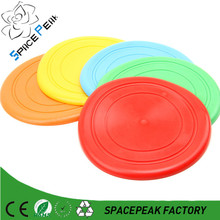 Alibaba plastic/silicone flying disc wholesale frisbee