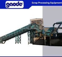 supply good price used scrap metal shredder line for sale